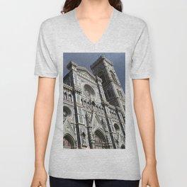"Sant Maria Del Fiore ""Duomo"" of Florence, Italy Unisex V-Neck"