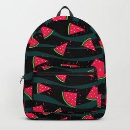 Watermelon slice . Backpack