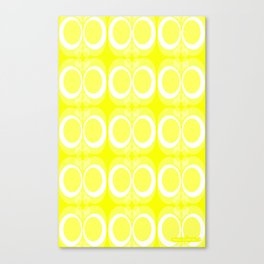 It's Easter - Fabric pattern Canvas Print
