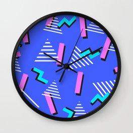 Retro x 2 Wall Clock
