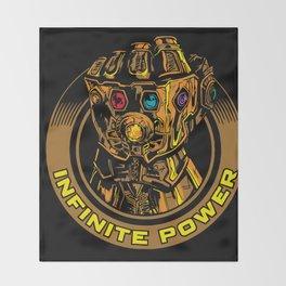 Infinity Gauntlet Throw Blanket