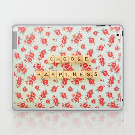 Choose Happiness Laptop & iPad Skin