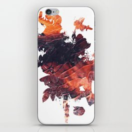 Mask Flow Fire iPhone Skin