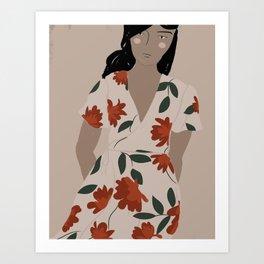Christy Dawn I Art Print