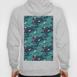Fishing on the Dock Pattern Hoody