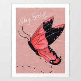 Resilient Wings Art Print