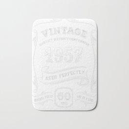 Vintage-1957---60th-Birthday-Gift-Idea Bath Mat