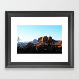 Red Rock of Sedona Framed Art Print