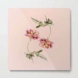 Wilting Flowers Metal Print