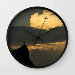 Rio's Clouds Wall Clock