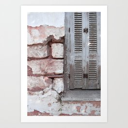 Walls and Windows Art Print