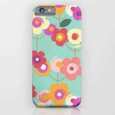 Colourful garden iPhone 6s Slim Case
