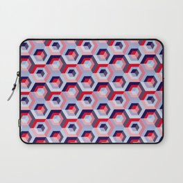 Pattern graphic cubes Laptop Sleeve