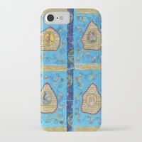 literature iPhone & iPod Cases featuring Obscene Literature by mel b textiles