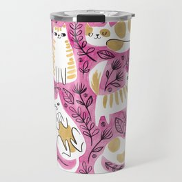 Fat Cats Travel Mug