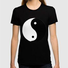 Yin and Yang BW T-Shirt