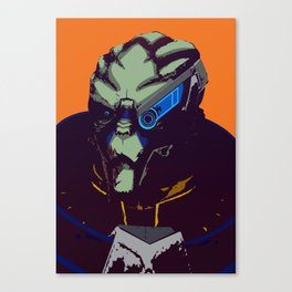 Mass Effect - Garrus- Arch Angel Canvas Print