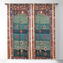 Sivas Antique Turkish Niche Kilim Print Blackout Curtain