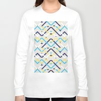 navy Long Sleeve T-shirts featuring Navy by La Señora