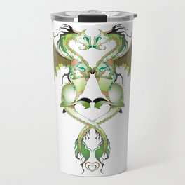 Earthen Love Dragons Travel Mug