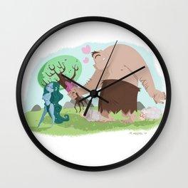 Polifemo y Galatea Wall Clock