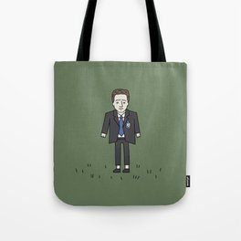 Sad Mulder in a Field Tote Bag