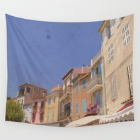 belle Wall Tapestries featuring Belle Village by ZBOY