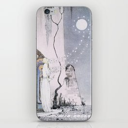 East of the Sun and West of the Moon - The Lassie & her Grandmother iPhone Skin