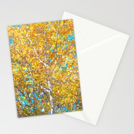 Sunlight in the Tree Stationery Cards