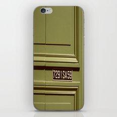 Green doorway  iPhone & iPod Skin