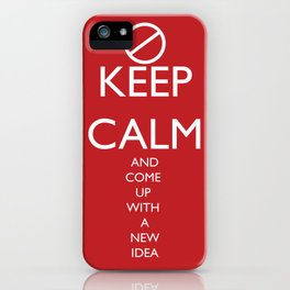 Maybe, Don't Keep Calm iPhone Case