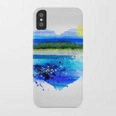 Sea in my heart Slim Case iPhone X