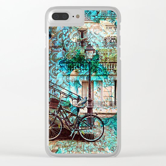 Amsterdam City Trip Clear iPhone Case