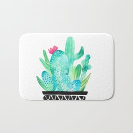 Pot Me A Cacti! Bath Mat