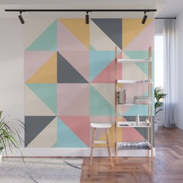 Geometric Pattern XV Wall Mural