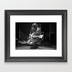 jenny lee lindberg of warpaint Framed Art Print