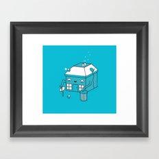 House music Framed Art Print