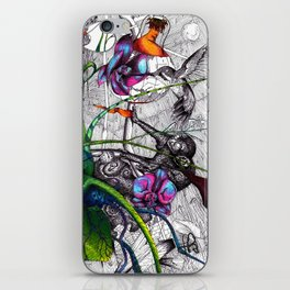 Hummingbird 2 iPhone Skin