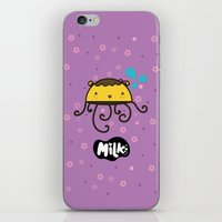 musa iPhone & iPod Skins featuring Lusa Musa© of MILK FACTORY ® by Mimi Guarnero