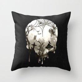 The Darkest Hour Throw Pillow