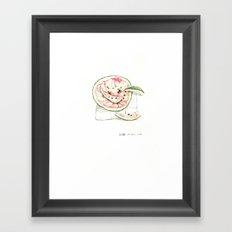 西瓜皮 Framed Art Print