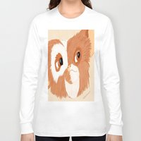 gizmo Long Sleeve T-shirts featuring Gizmo by ItalianRicanArt