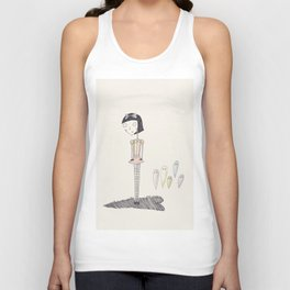ghost candy. Unisex Tank Top