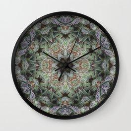 Crystal Wheel Wall Clock