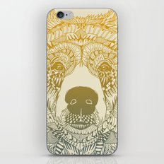 Bear (Savage) iPhone & iPod Skin