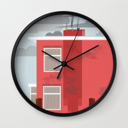 Our neighbours Wall Clock