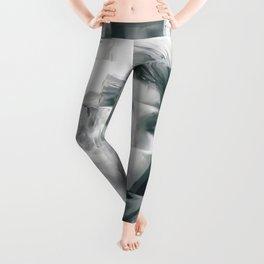 Young woman Leggings