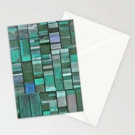 Life in Boxes (Blue and Purple) Stationery Cards