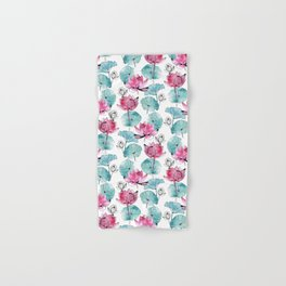 Waterlily buds Hand & Bath Towel