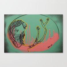 Pink-T Canvas Print